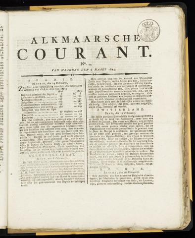 Alkmaarsche Courant 1815-03-06