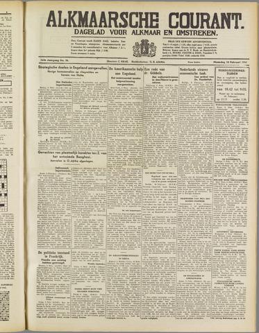 Alkmaarsche Courant 1941-02-10