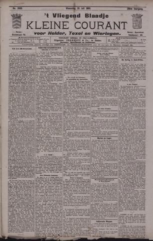 Vliegend blaadje : nieuws- en advertentiebode voor Den Helder 1900-07-25