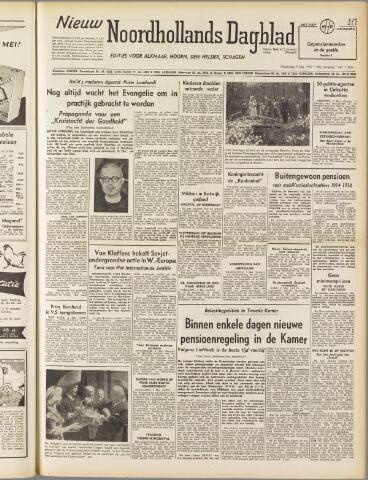 Nieuw Noordhollandsch Dagblad : voor Alkmaar en omgeving 1950-05-03