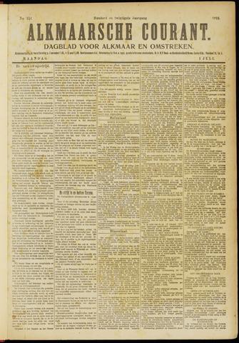 Alkmaarsche Courant 1918-07-01