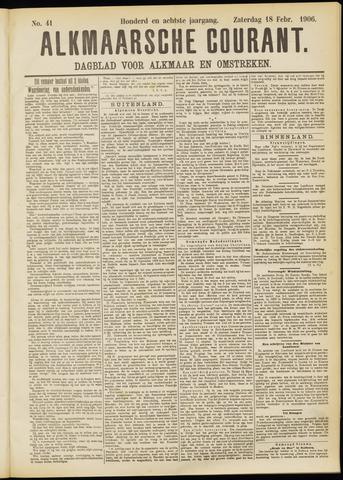 Alkmaarsche Courant 1906-02-19