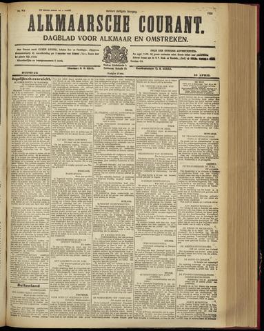Alkmaarsche Courant 1928-04-10