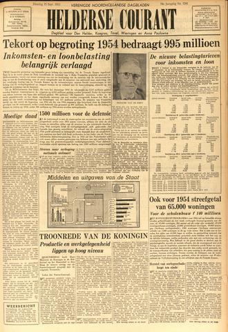 Heldersche Courant 1953-09-15