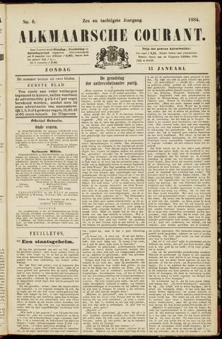 Alkmaarsche Courant 1884-01-13