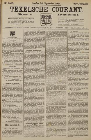 Texelsche Courant 1911-09-24