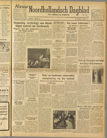 Nieuw Noordhollandsch Dagblad : voor Alkmaar en omgeving 1947-01-04