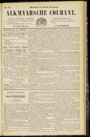 Alkmaarsche Courant 1900-11-14