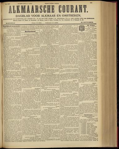 Alkmaarsche Courant 1928-09-26