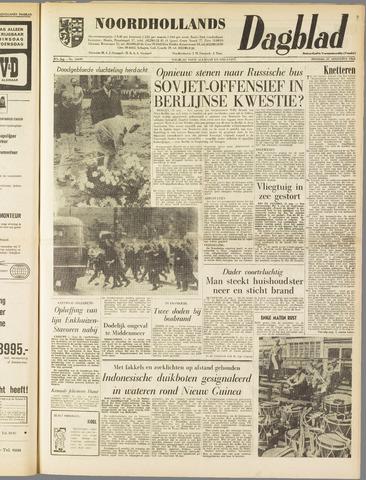 Noordhollands Dagblad : dagblad voor Alkmaar en omgeving 1962-08-21