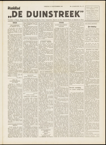 De Duinstreek 1953-09-25