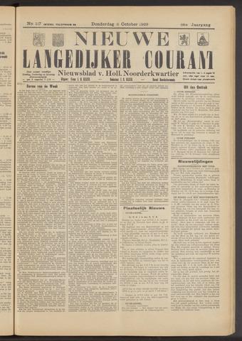 Nieuwe Langedijker Courant 1929-10-03