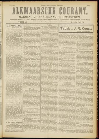 Alkmaarsche Courant 1916-08-11