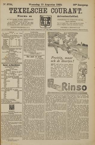 Texelsche Courant 1923-08-15