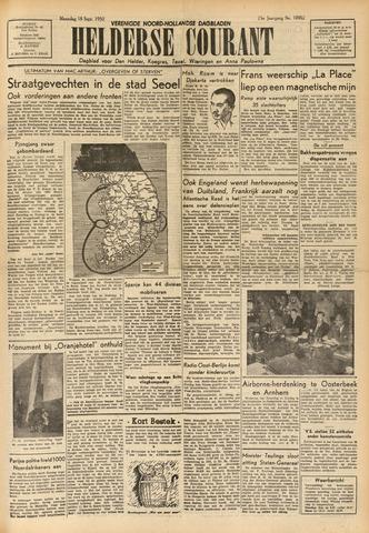 Heldersche Courant 1950-09-18