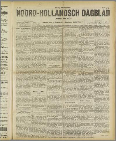 Ons Blad : katholiek nieuwsblad voor N-H 1922-11-25