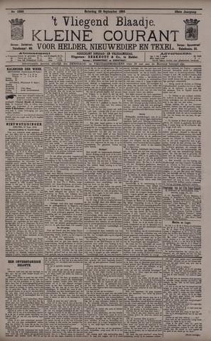 Vliegend blaadje : nieuws- en advertentiebode voor Den Helder 1895-09-28