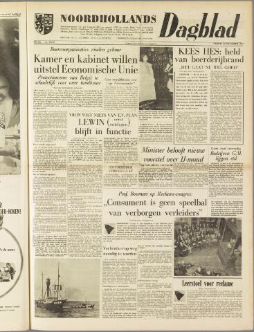 Noordhollands Dagblad : dagblad voor Alkmaar en omgeving 1959-11-13