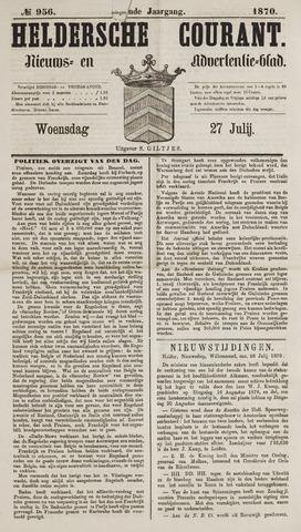 Heldersche Courant 1870-07-27