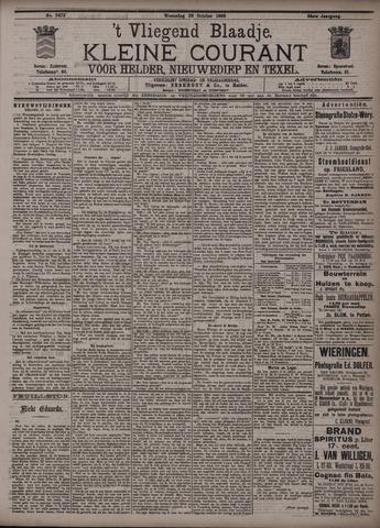 Vliegend blaadje : nieuws- en advertentiebode voor Den Helder 1896-10-28