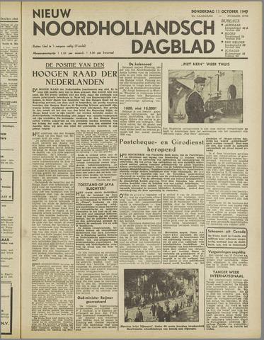 Nieuw Noordhollandsch Dagblad : voor Alkmaar en omgeving 1945-10-11