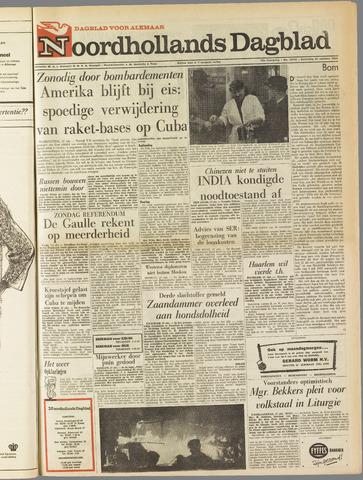 Noordhollands Dagblad : dagblad voor Alkmaar en omgeving 1962-10-27