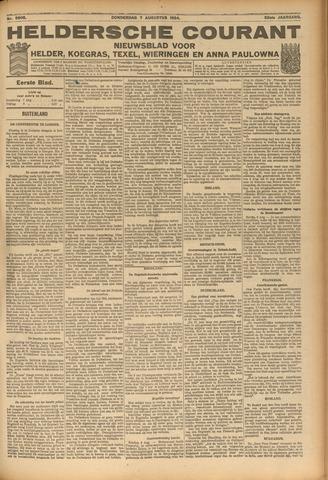 Heldersche Courant 1924-08-07