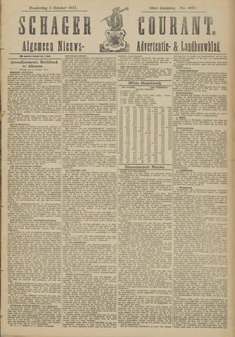 Schager Courant 1911-10-05