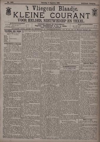Vliegend blaadje : nieuws- en advertentiebode voor Den Helder 1890-08-02