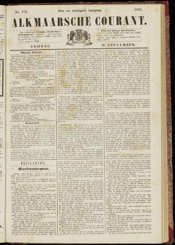 Alkmaarsche Courant 1881-09-30