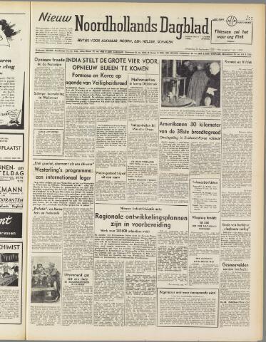 Nieuw Noordhollandsch Dagblad : voor Alkmaar en omgeving 1950-09-28
