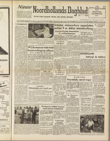 Nieuw Noordhollandsch Dagblad : voor Alkmaar en omgeving 1950-09-09