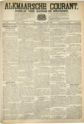 Alkmaarsche Courant 1930-03-03