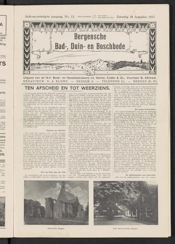 Bergensche bad-, duin- en boschbode 1937-08-28