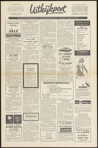 Uitkijkpost : nieuwsblad voor Heiloo e.o. 1968-08-22