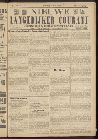 Nieuwe Langedijker Courant 1928-07-03