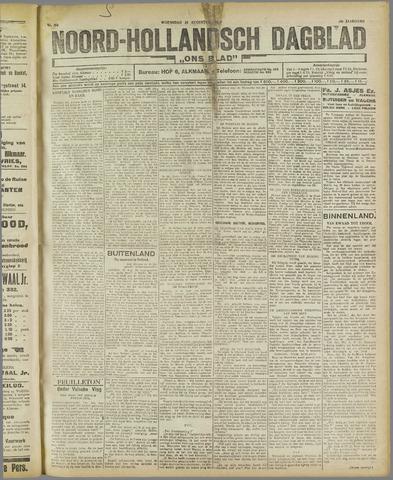 Ons Blad : katholiek nieuwsblad voor N-H 1921-08-24