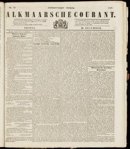 Alkmaarsche Courant 1876-12-31