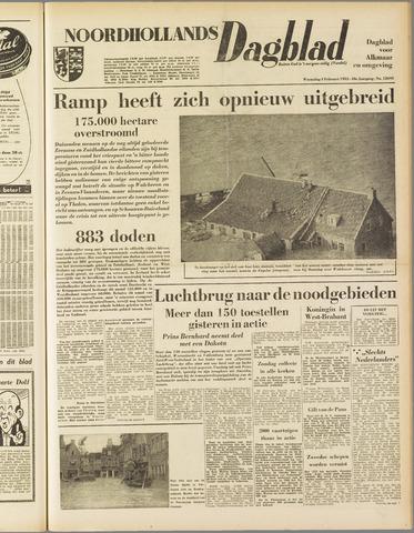Noordhollands Dagblad : dagblad voor Alkmaar en omgeving 1953-02-04