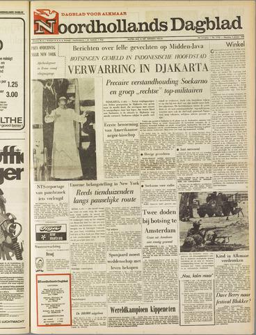 Noordhollands Dagblad : dagblad voor Alkmaar en omgeving 1965-10-04