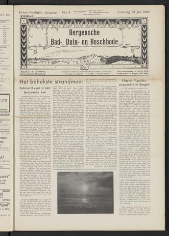 Bergensche bad-, duin- en boschbode 1949-07-30