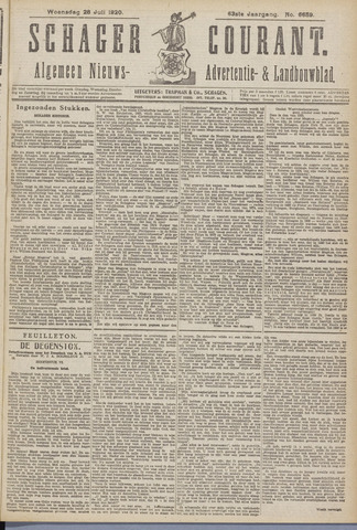 Schager Courant 1920-07-28