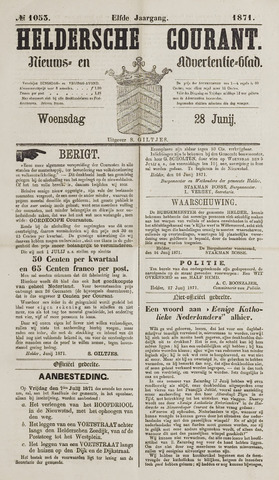 Heldersche Courant 1871-06-28