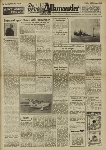 De Vrije Alkmaarder 1949-10-28