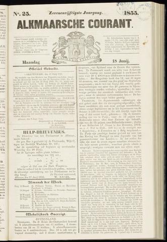 Alkmaarsche Courant 1855-06-18