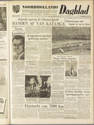 Noordhollands Dagblad : dagblad voor Alkmaar en omgeving 1960-07-28