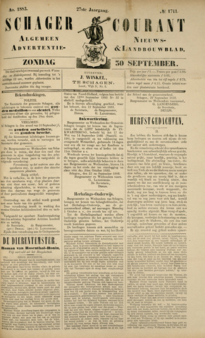 Schager Courant 1883-09-30