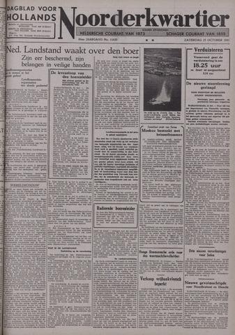 Dagblad voor Hollands Noorderkwartier 1941-10-25
