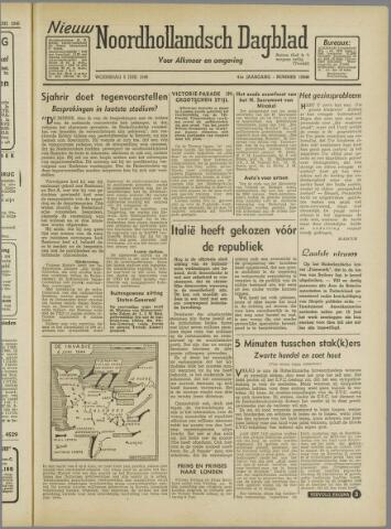 Nieuw Noordhollandsch Dagblad : voor Alkmaar en omgeving 1946-06-05
