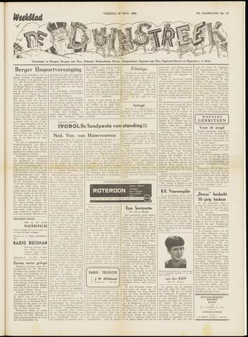 De Duinstreek 1956-11-30